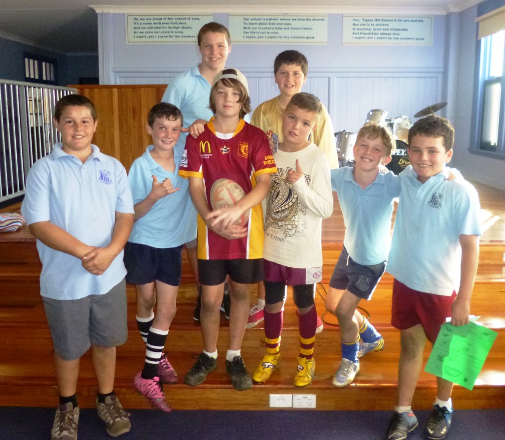 Super rugby boys!