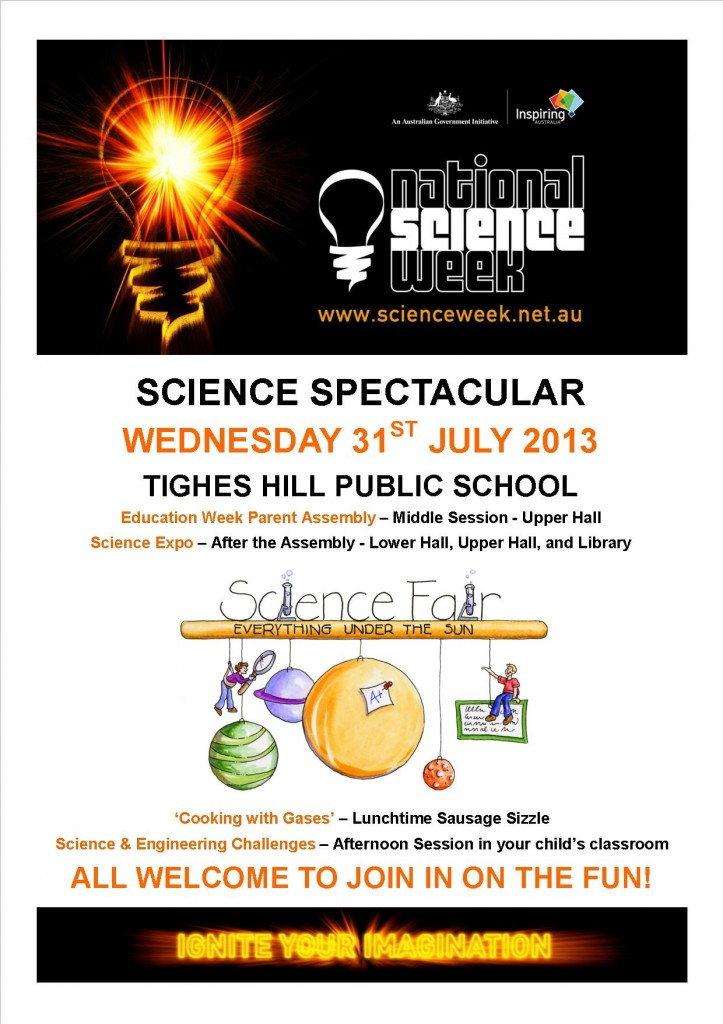 Science Spectacular Flyer
