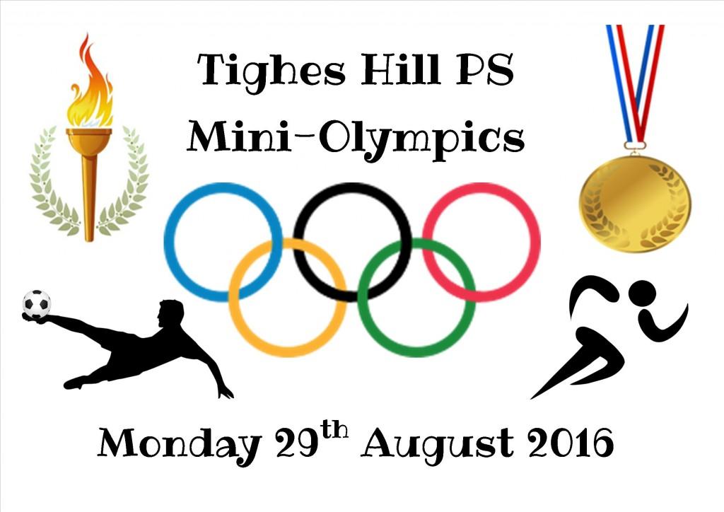 mini olympics poster